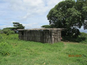The Maasai built their own church